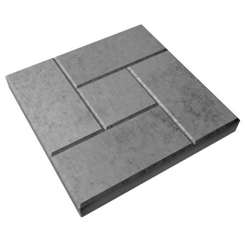 Вибролитая тротуарная плитка Калифорния 300х300х30 мм