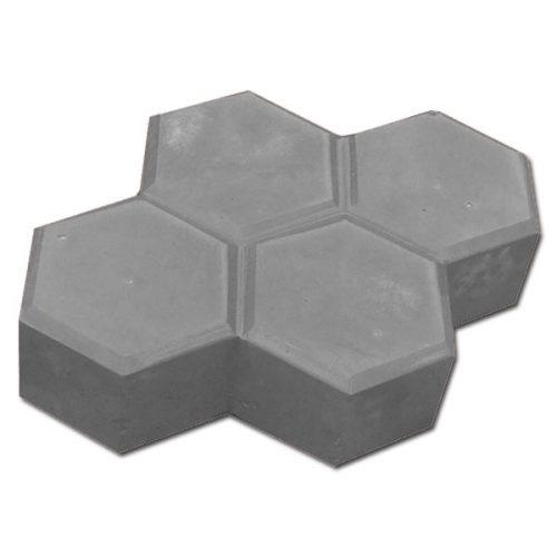 Вибролитая тротуарная плитка «Соты» 225х180х60 мм