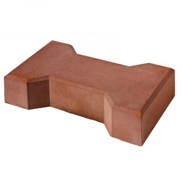 Вибролитая тротуарная плитка Катушка 225х136х60 мм