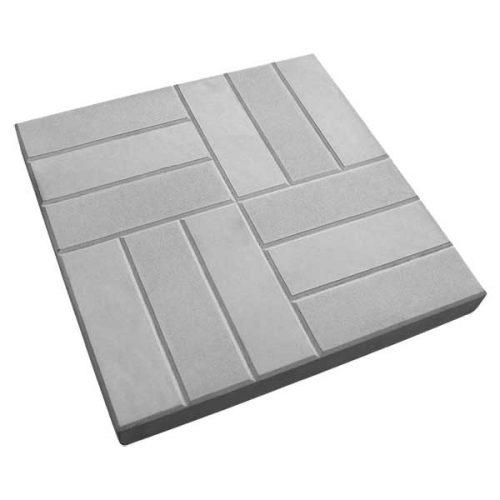 Вибролитая тротуарная плитка 12 Кирпичей 500х500х50 мм