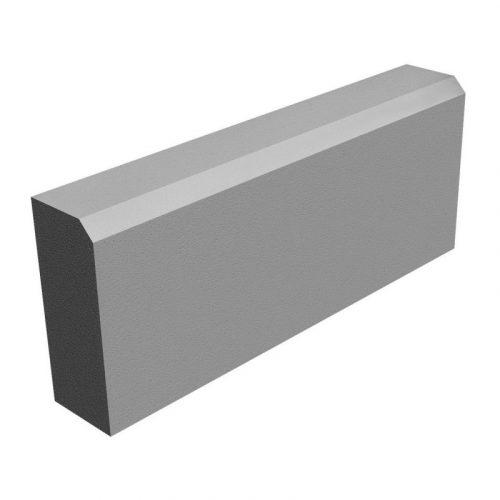 Бордюрный камень БР 50.20.8 Садовый вибропрессованный 500х200х80 мм