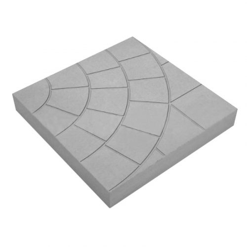 Вибролитая тротуарная плитка «Колодец» 400х400х50 мм