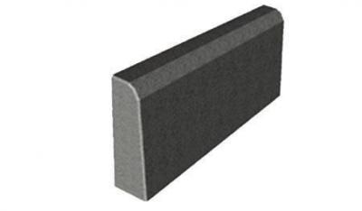 Бордюрный камень БР 45.20.6 Садовый вибропрессованный 450х200х60 мм