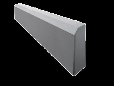 Бордюрный камень БР 50.20.8 Садовый вибропрессованный 500х200х80